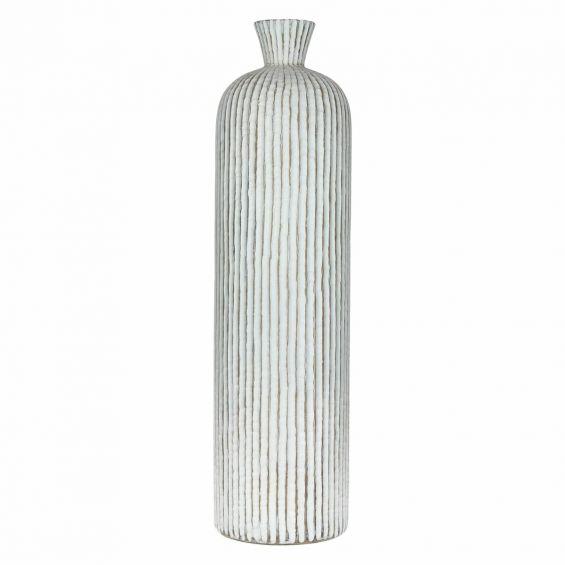 Vaso da terra bianco Yass H63: vasi da interno alti Pomax