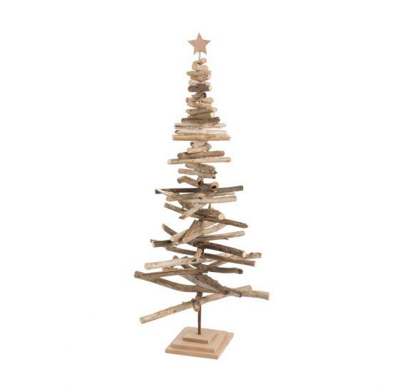 Albero di Natale Rami Legno Naturale H142