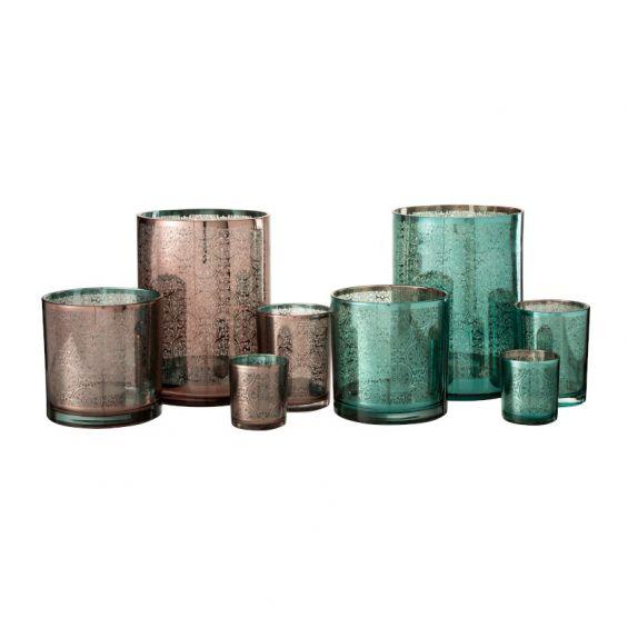 Bicchiere portacandele stile orientale