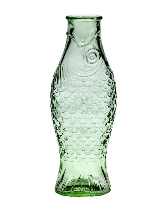 Particolare Bottiglia Fish: bottiglie di vetro 1 litro Serax