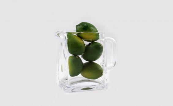 Caraffa vetro trasparente per vino o acqua: accessori casa Pomax