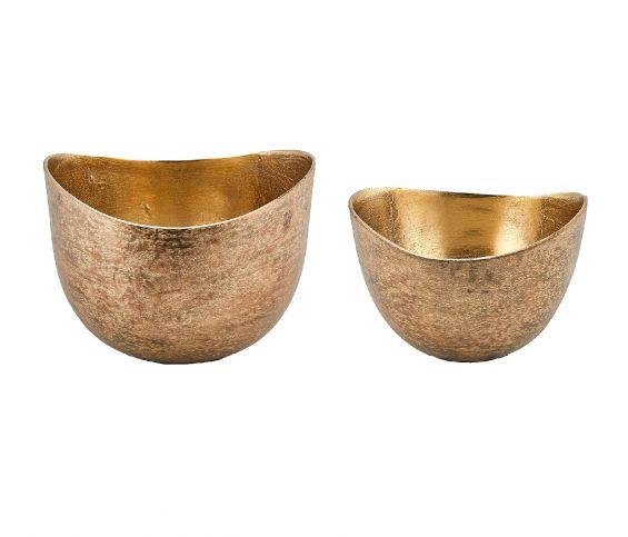 Ciotola Gold Ovale