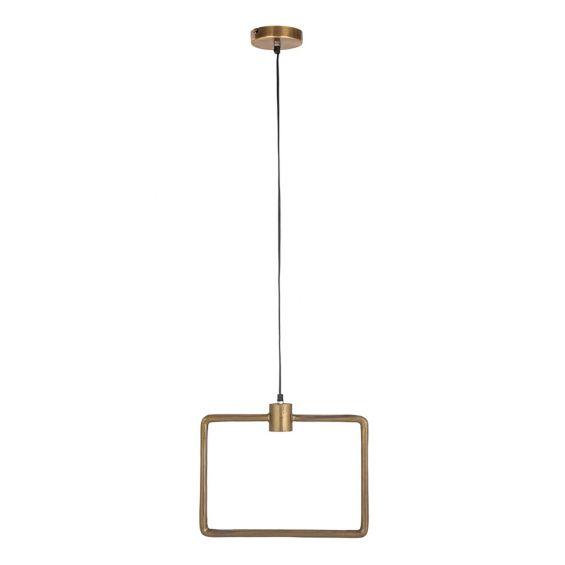 Lampadario rettangolare EDG Enzo De Gasperi design