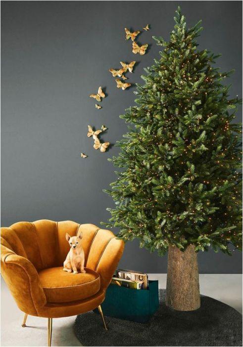 Pino Luxury LED   Albero di Natale Preilluminato con luci MiniLed