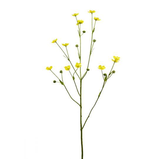 Ranuncolo Selvatico ramo artificiale H79