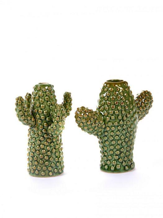 Vaso Cactus Serax S: set di 2 vasi design particolari ceramica