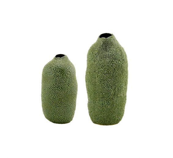 Durian: vaso verde ceramica design EDG