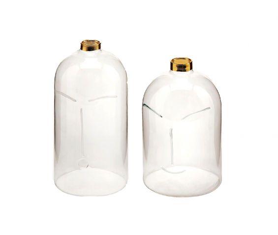 Vaso Faccia in vetro : Vasi di design in vetro