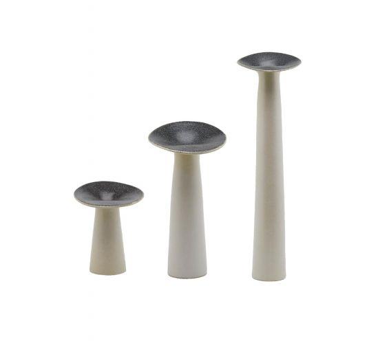 Vaso gres fungo : Vasi di design in ceramica