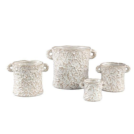 Vaso Desert   Vaso in ceramica effetto carta stropicciata