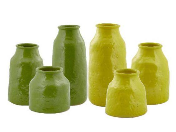 Vaso Fenice Bottiglia: Vasi in terracotta di design