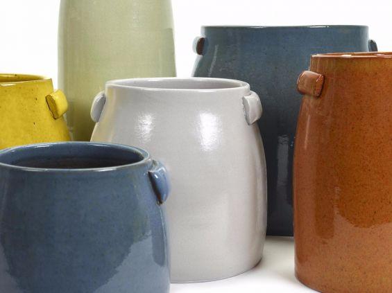 Tabor: Vaso di terracotta da esterno o da interno Serax