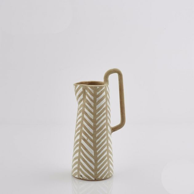 Vaso di terracotta Caraffa Fenice: vasi design EDG