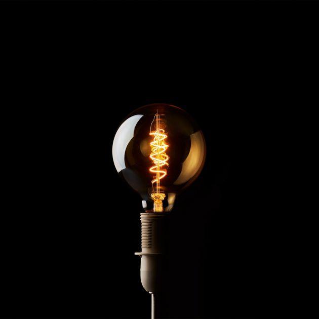 Led Sfera H17,5: Lampadine Edison vintage a filamento. Led luce calda