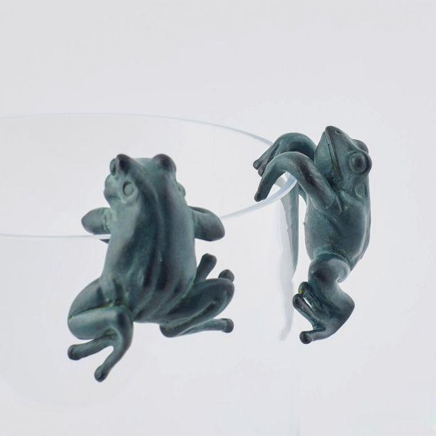 Rane in resina decorative: decorazioni per cocktail o per vasi EDG
