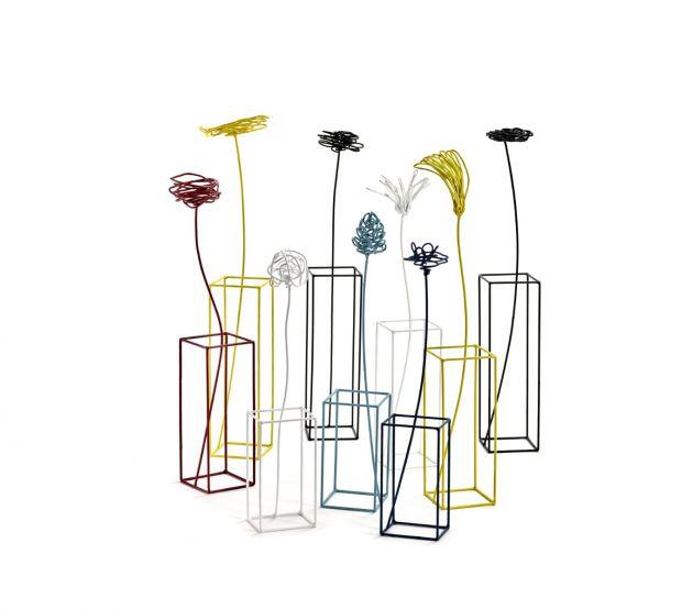 Ciuriddu Alto : Fiore in metallo stilizzato design Antonino Sciortino
