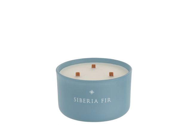 Siberia Fir: candela profumata in vetro J Line