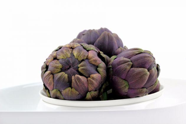 Carciofo finto: frutta e verdura finta