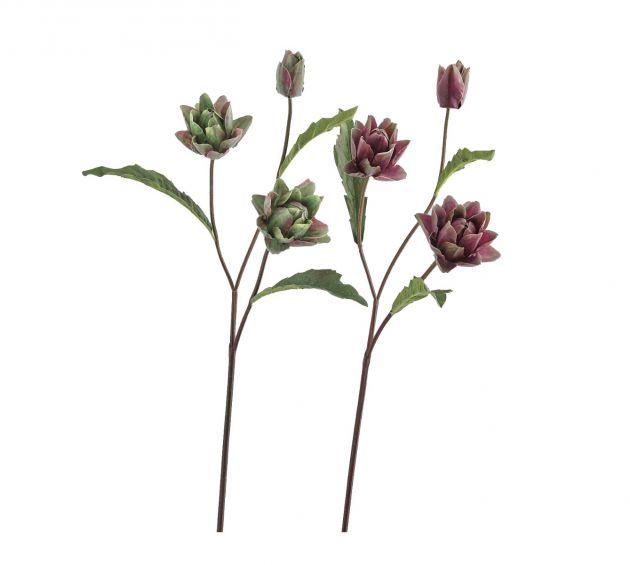 Ramo di Carciofo tre fiori H78
