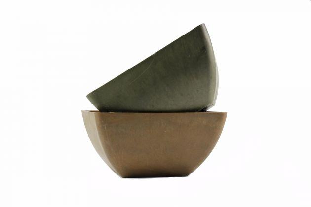 Ciotola D40: vasi in resina da esterno D&M