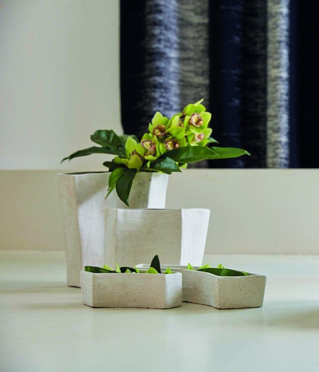 Vaso tortora ceramica: vasi design D&M