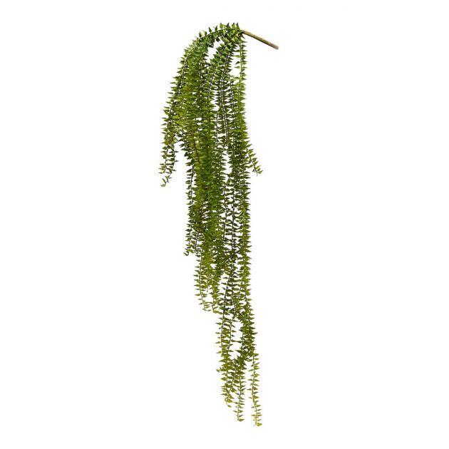 Felce pendente artificiale H87 : Piante verdi artificiali di qualità
