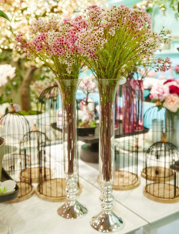 Cespuglio di Plumbago: fiori artificiali di alta qualità