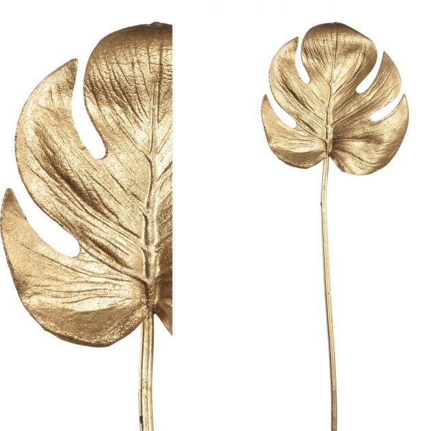 Foglia Artficiale di Philodendro oro