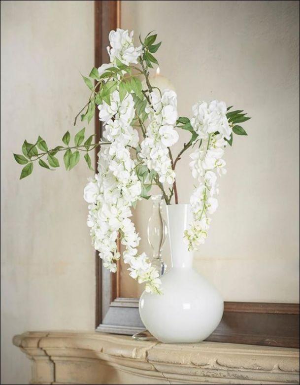 Ramo di Glicine Cadente : fiori artificiali di alta qualità