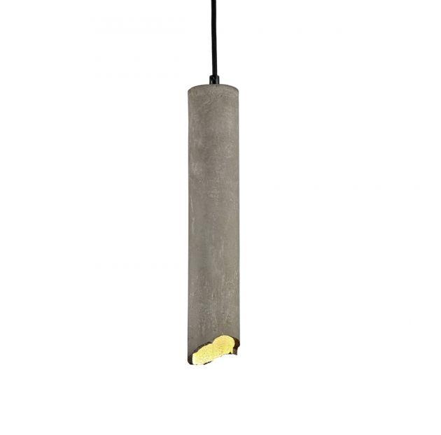 Lampada a sospensione in cemento Broquaine