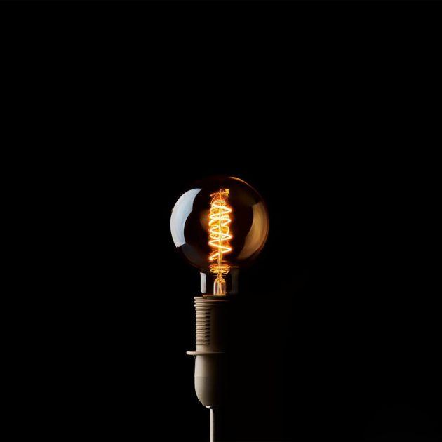 Led Sfera D9,5: Lampadine Edison vintage a filamento. Led luce calda