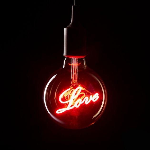 Lampadina Decorativa Love LED  E27