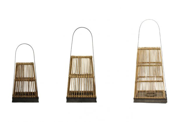Lanterna Puqi: lanterne grandi - giganti in legno Pomax