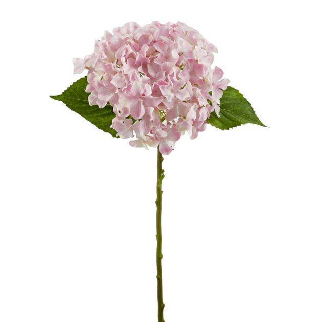 Ortensia artificiale rosa H40 : fiori artificiali di alta qualità