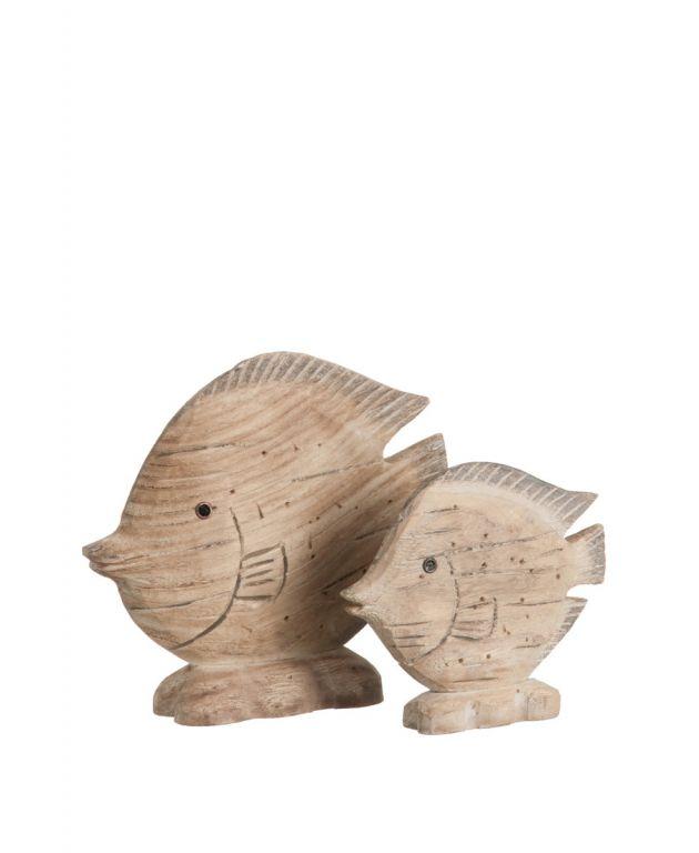 Pesce - pesci di legno: sculture in legno J Line