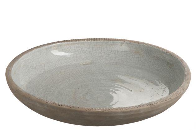 Grey: piatto centrotavola o svuotatasche: piatti decorativi J Line