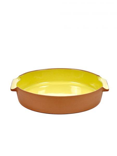 Pirofila Gialla: tegami in terracotta smaltata, teglie da forno Serax
