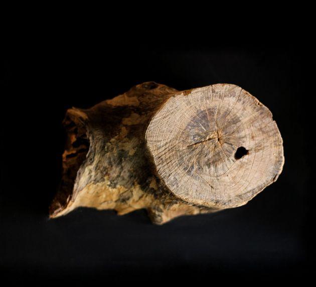Quadro con tronchi di legno decorativi assortiti PTMD