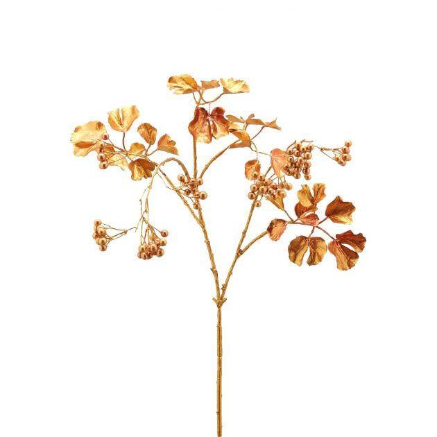 Ramo Bacche Oro : Rami artificiali decorativi