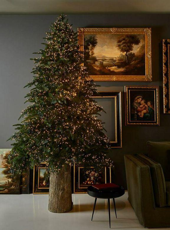 Pino Spark   Albero di Natale artificiale con MiniLed