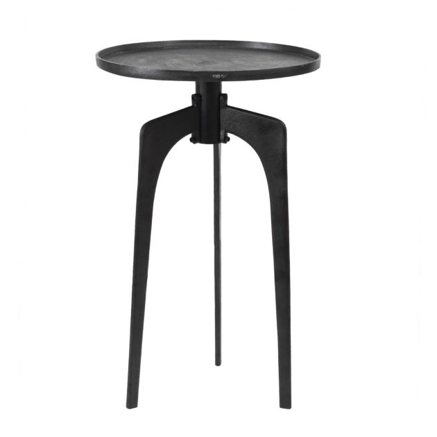 Alu: tavolino industrial in metallo design PTMD