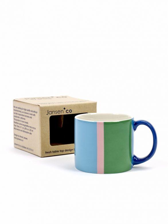 Tazza Mug Art: tazze da colazione particolari da latte o da the Jansen CO