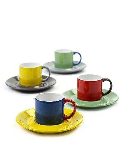 Tazza Mug Espresso: tazzine caffè colorate design Jansen CO