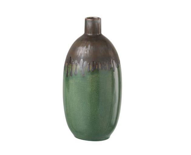 Vaso verde ceramica Sarah H29: vasi design J Line