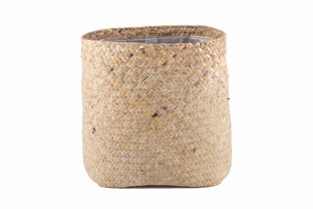 Vaso paglia intrecciata Ovale Plait: vasi design D&M