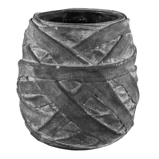 Portavasi Wrapped: vasi in cemento da esterno o da interno PTMD