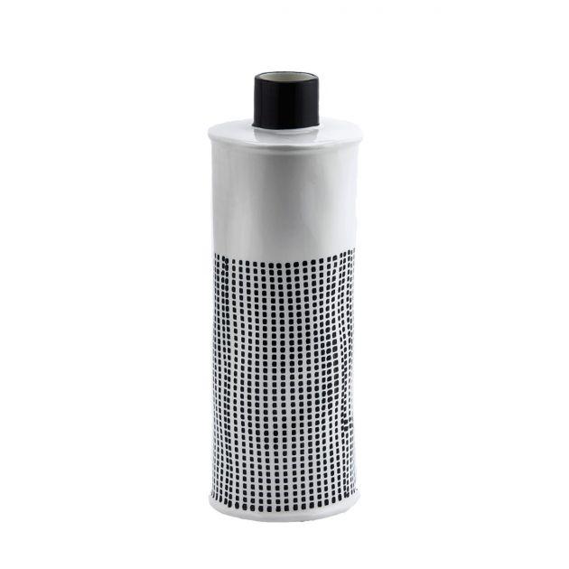 Vaso moderno bottiglia quadri bianco e nero