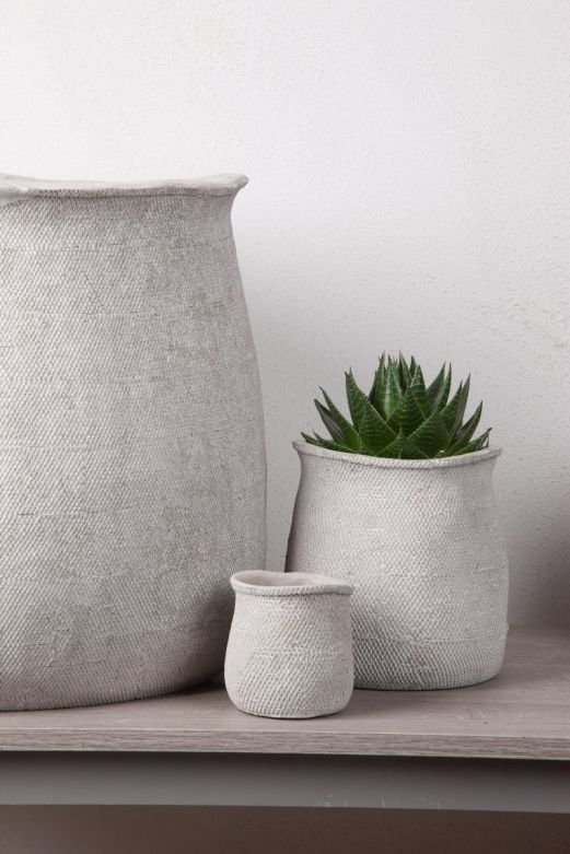Vaso JUG: vasi in cemento da esterno o da interno D&M