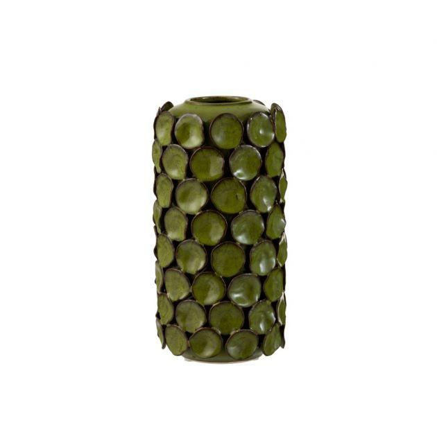 Vaso Malou : vaso alto in ceramica lavorato a mano H26