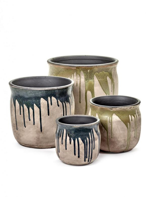 Vaso di terracotta Drops: vasi design Serax